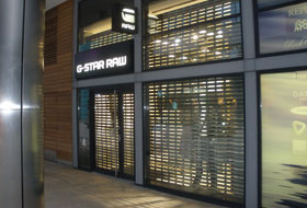 Vision roller shutters